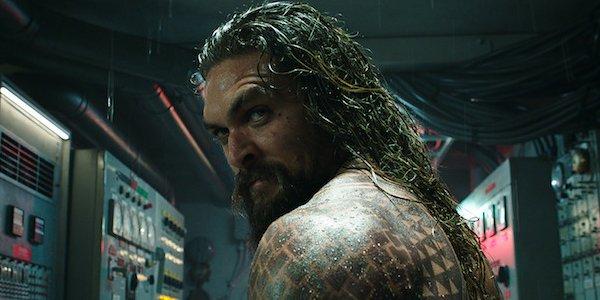 Jason Momoa Aquaman in submarine