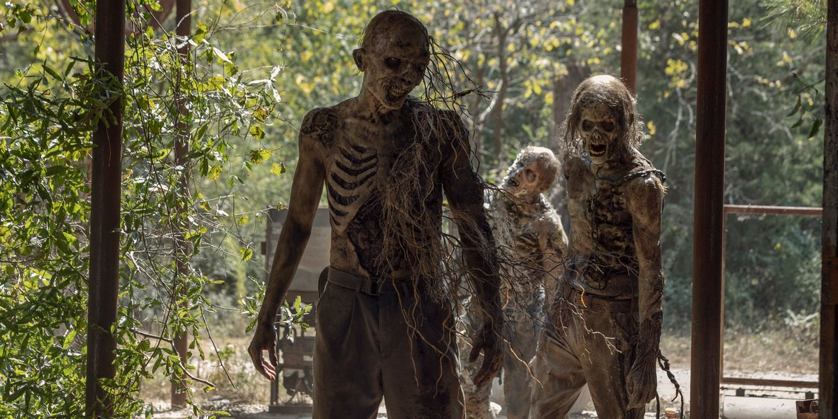 the walking dead season 10 zombies walkers amc