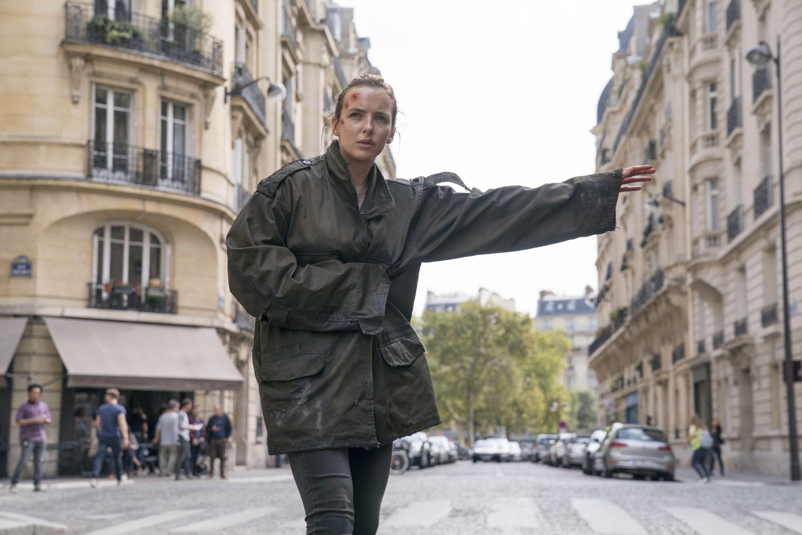 Jodie Comer as Villanelle in Killing Eve series two