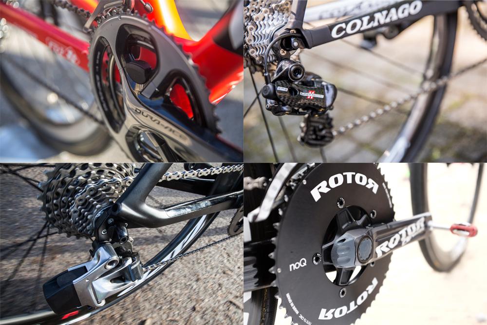 Shimano Sram And Campagnolo Road Bike Groupsets Cycling Weekly