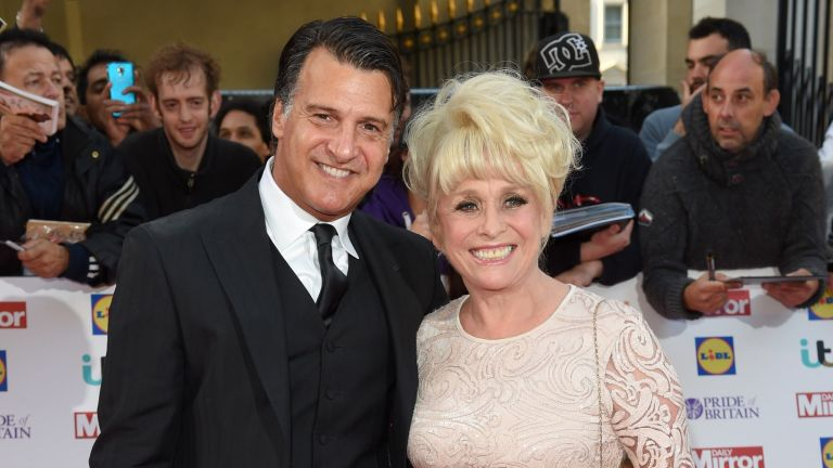 Dame Barbara WIndsor and Scott Mitchell attend the Pride of Britain awards at The Grosvenor House Hotel