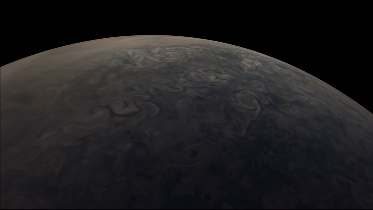 Fly over Jupiter in this stunning video from NASA's Juno spacecraft