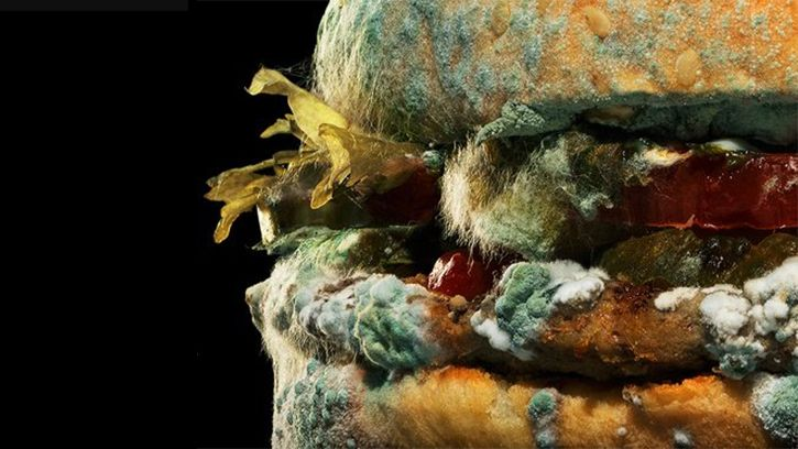 Fast food chains at war over mouldy ads - Creative Bloq