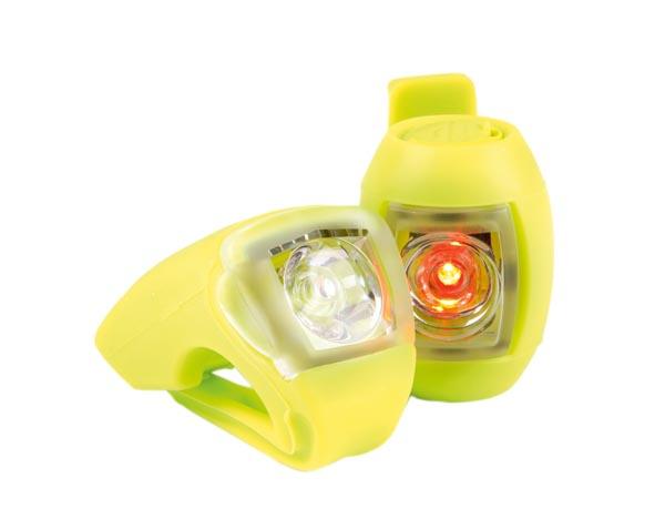 B'Twin bike lights USB