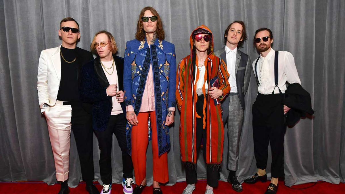And the Grammy Award for Best Rock Album goes to... Cage The Elephant