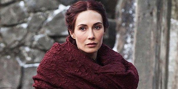Melisandre Game Of Thrones HBO