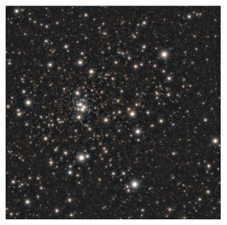New research shows that star cluster HP1 (seen here through Chile's Gemini South telescope) may contain some of the oldest stars in the Milky Way, dating to roughly 12.8 billion years old.