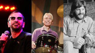 Ringo Starr, Charlie Watts and John Bonham