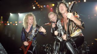 Judas Priest live in 1986