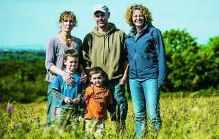 In her new series, lucky Kate Humble travels around the UK's glorious countryside meeting rural entrepreneurs and following their progress over the seasons.