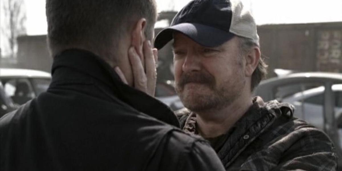 Bobby Singer in Supernatural.