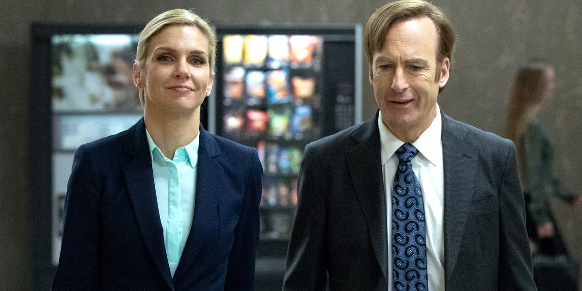 Kim Wexler and Jimmy McGill Better Call Saul Season 3 AMC