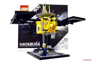 LEGO's Hayabusa Asteroid Spacecraft