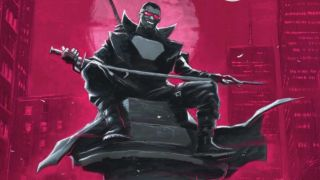 cover of Darkhold: Blade #1 by Juan Ferreyra