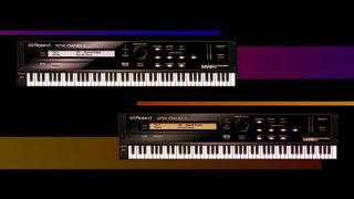 Roland SRX pianos