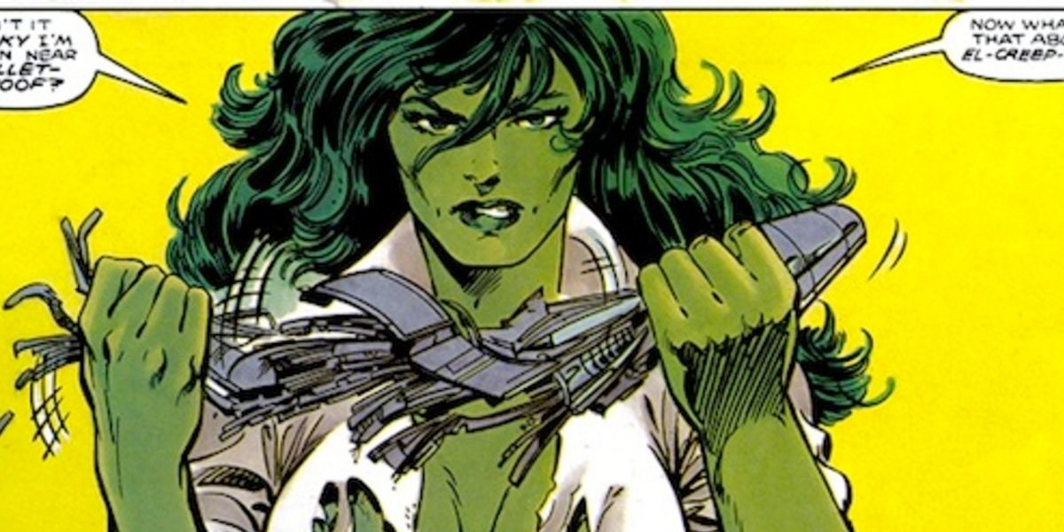 She Hulk Comic