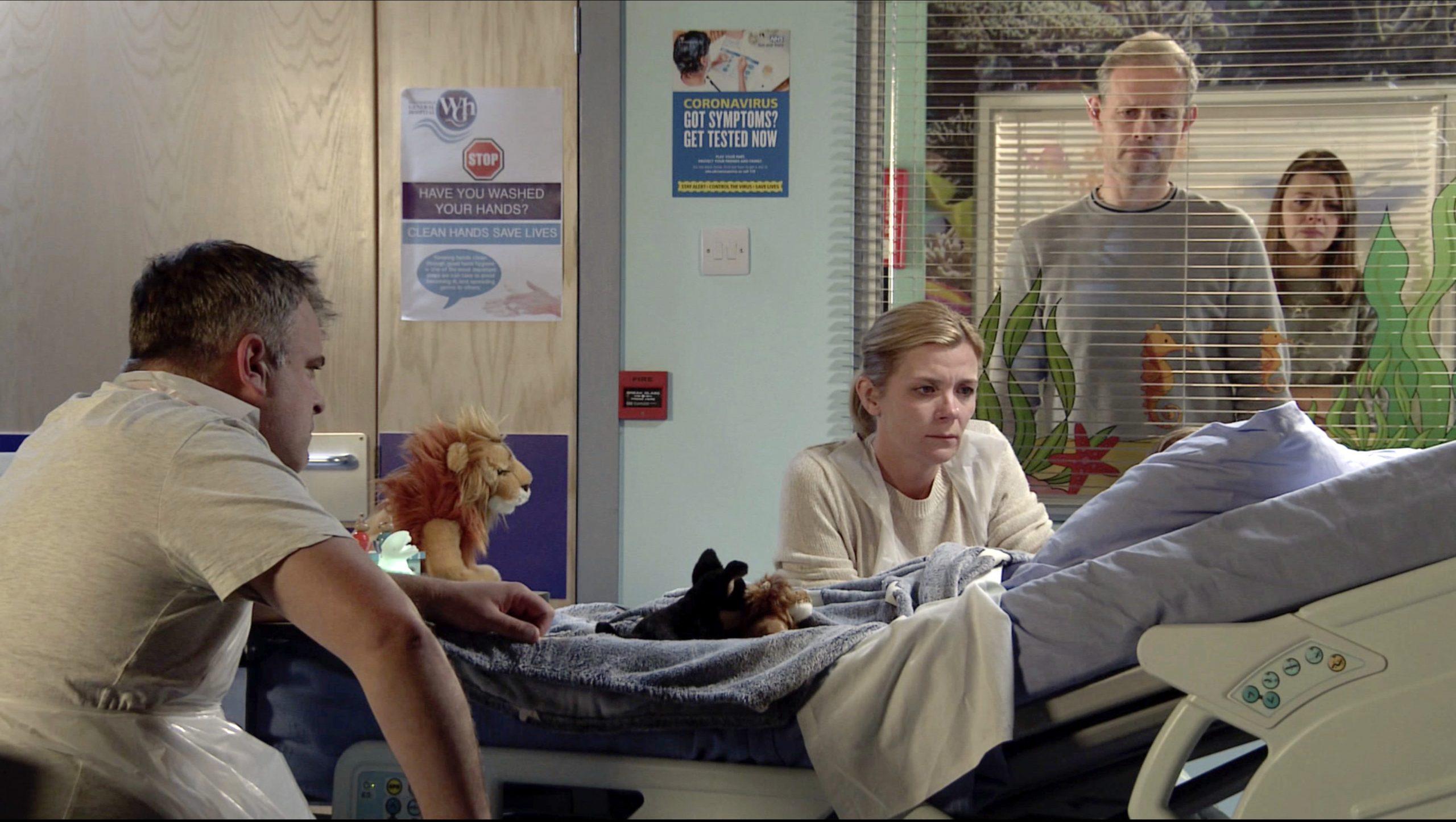 Spoiler en Coronation Street: Leanne Battersby se despide de Oliver