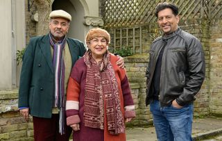 EastEnders Masood Ahmed's uncle and aunt