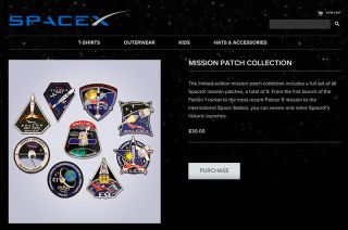 SpaceX Limited Edition Mission Patches for Sale