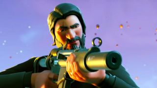 An image of Fortnite Battle Royale s new John Wick inspired skin