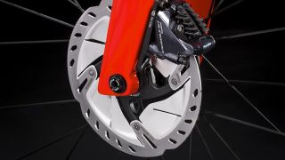 Disc brakes offer substantially better performance under high-load conditions
