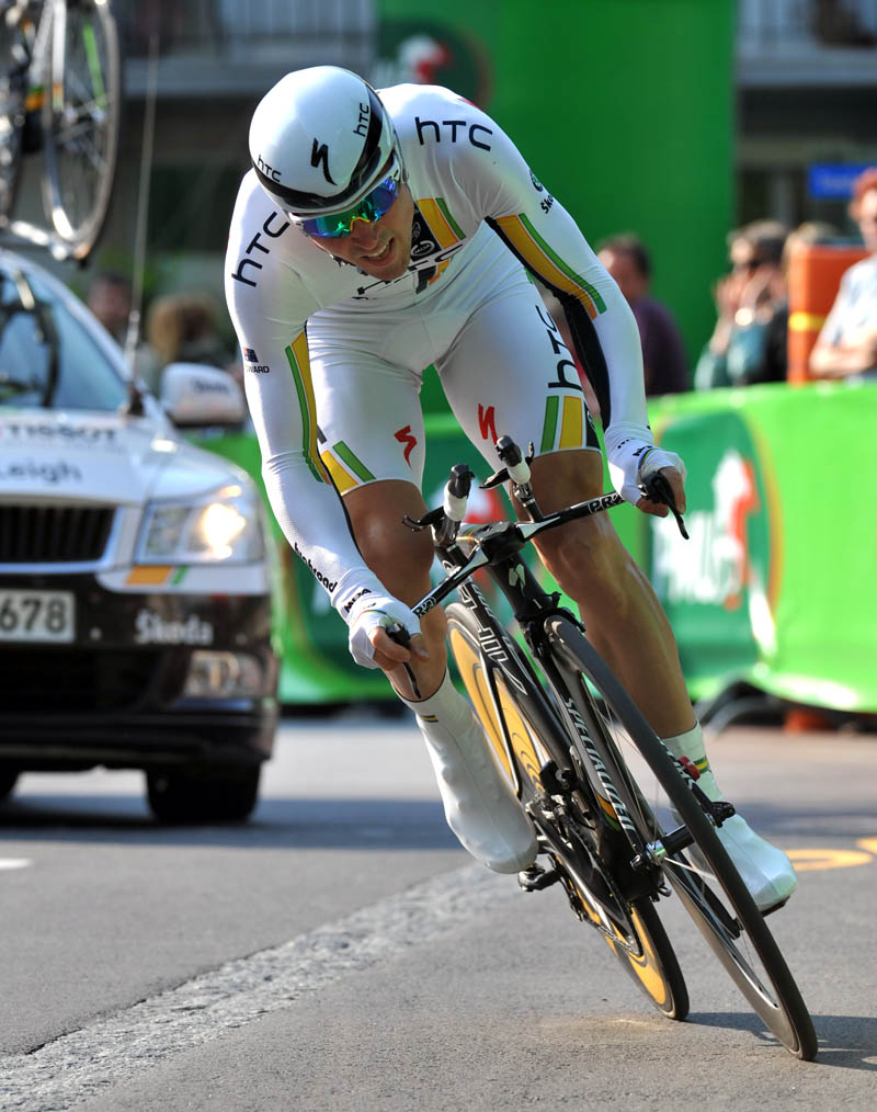 Leigh Howard, third, Tour de Romandie 2011, prologue