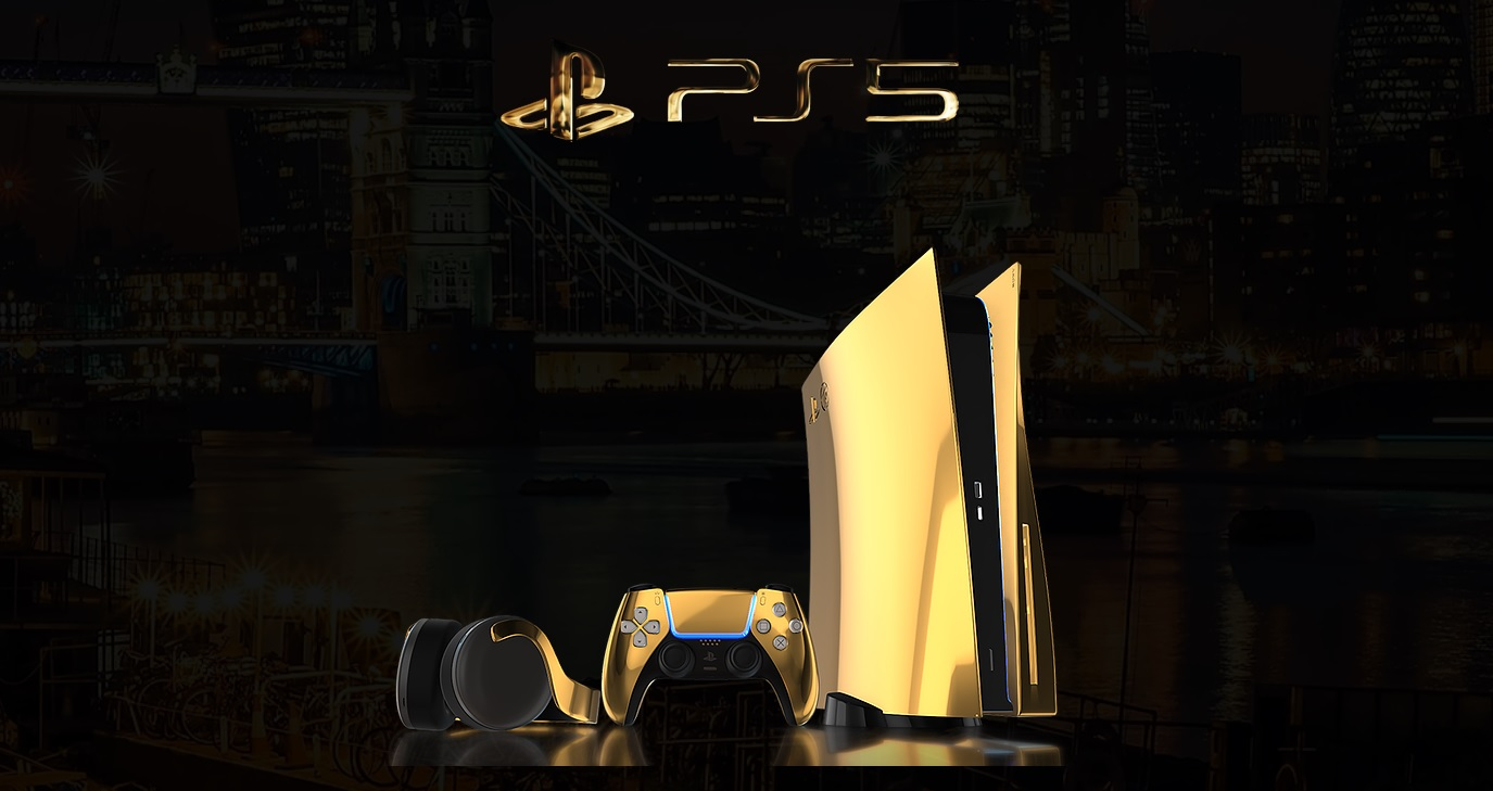 These Custom Gold Platinum And Rose Gold Ps5 Consoles Will Cost