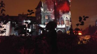 Legends of Horror Gets Spooky Projection Mapping