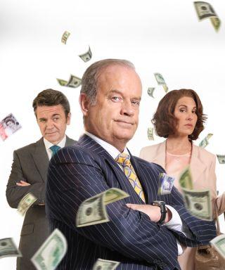 Breaking the Bank Kelsey Grammer Tamsin Greig John Michael Higgins