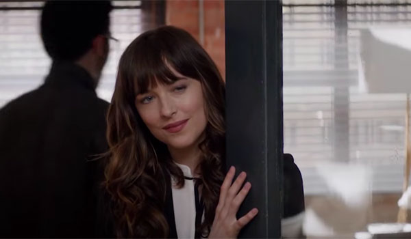 ana in her office fifty shades