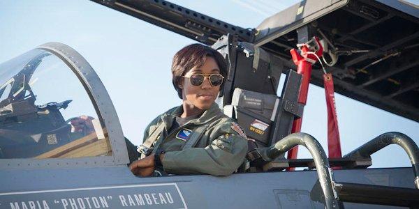 Captain Marvel's Lashana Lynch