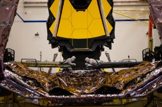 In a recent test at a Northrop Grumman facility in Redondo Beach, California, NASA's James Webb Space Telescope deployed and extended its Deployable Tower Assembly. This component of the telescope separates its iconic gold mirrors from the spacecraft's scientific instruments and propulsion systems.