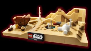 Get a free Lego Star Wars Tatooine Homestead building set with any Lego Star Wars purchase over $85 this Star Wars Day.