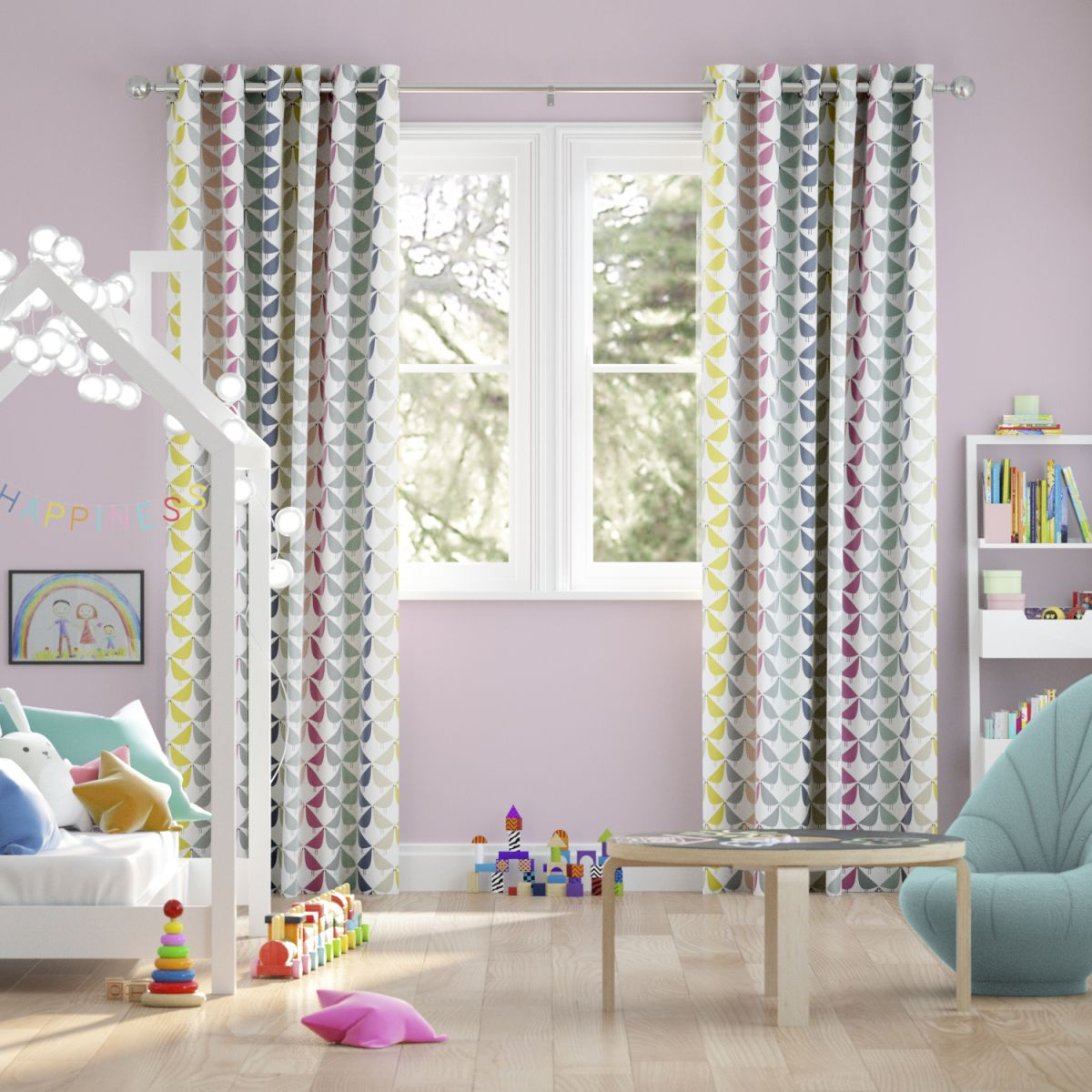Window treatments for children's bedrooms: 11 wonderful ...