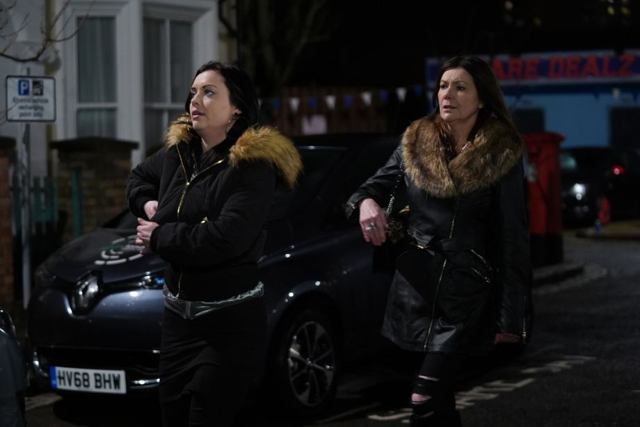 EastEnders Whitney Dean and Michaela Turnbull