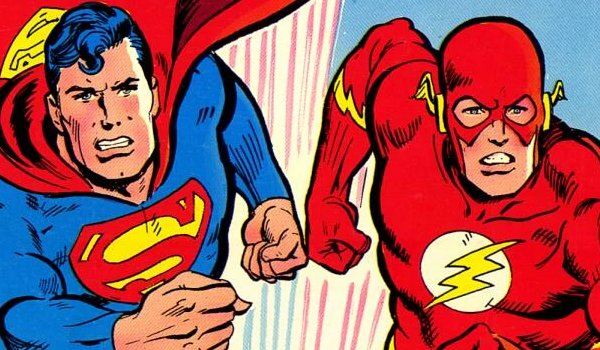 Superman Flash Race