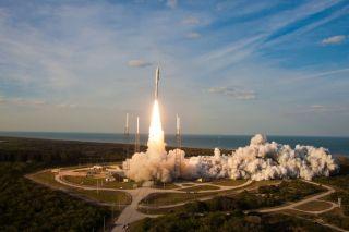MUOS-1 Satellite Launches on Atlas 5 Rocket