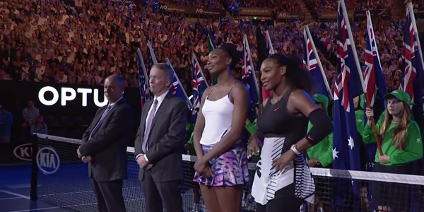 Venus and Serena Williams Australian Open