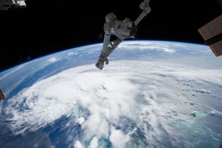 Astronauts' View of Tropical Storm Arthur, July 2, 2014