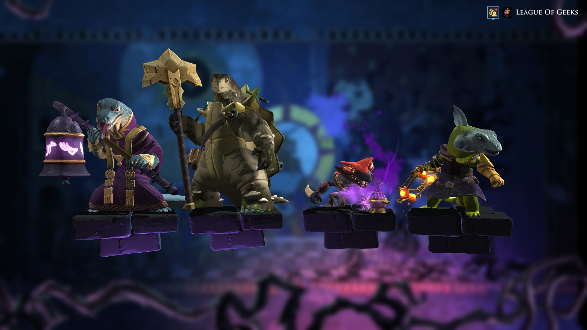 official photos 7157e c2d9d Armello's new Dragon Clan Update adds four characters and a ...