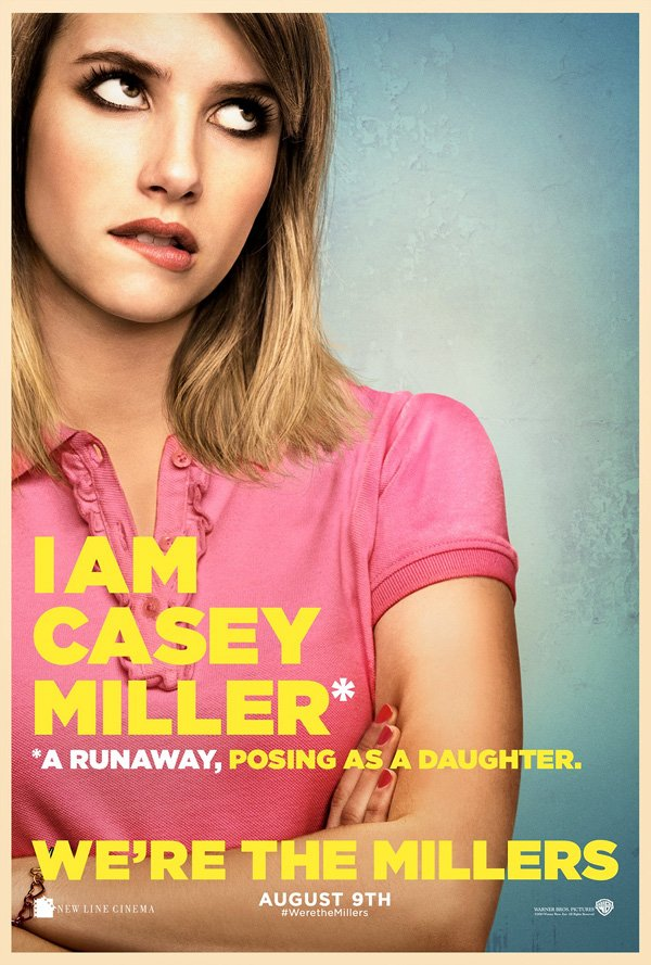 We're The Millers Character Posters Emma Roberts