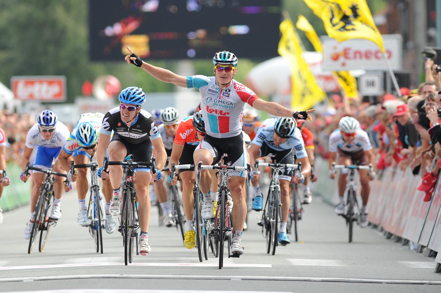 Andre Greipel wins, Eneco Tour 2011, stage two