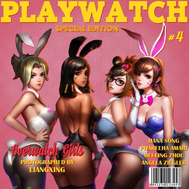 Overwatch Playboy parody magazine has been shut down by a
