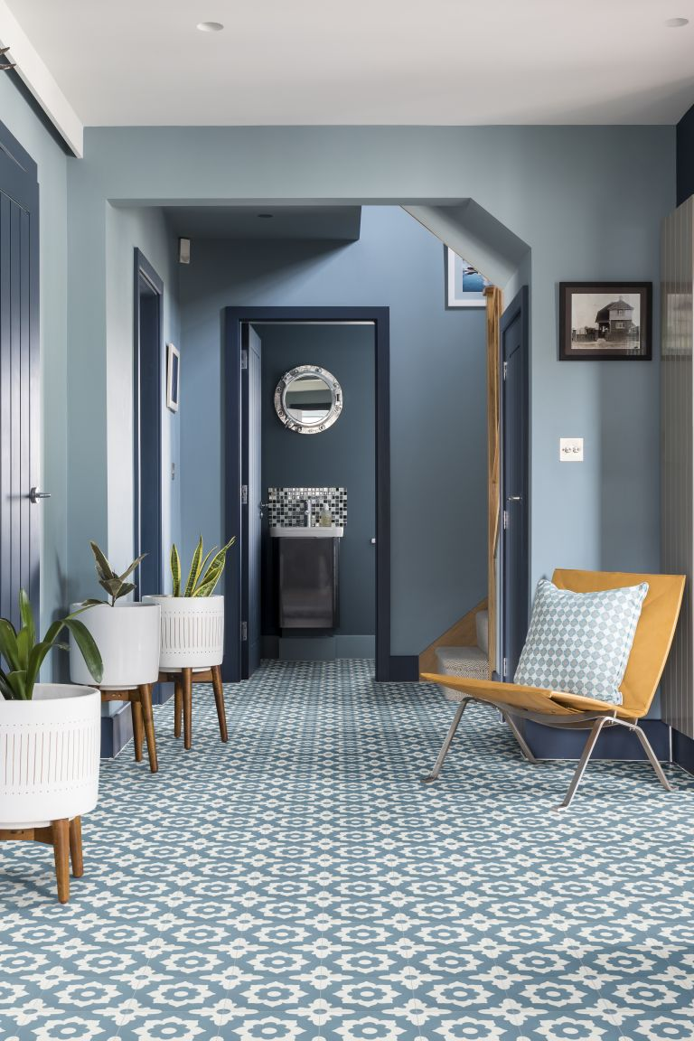 Hallway Paint Ideas Blue By Farrow Ball