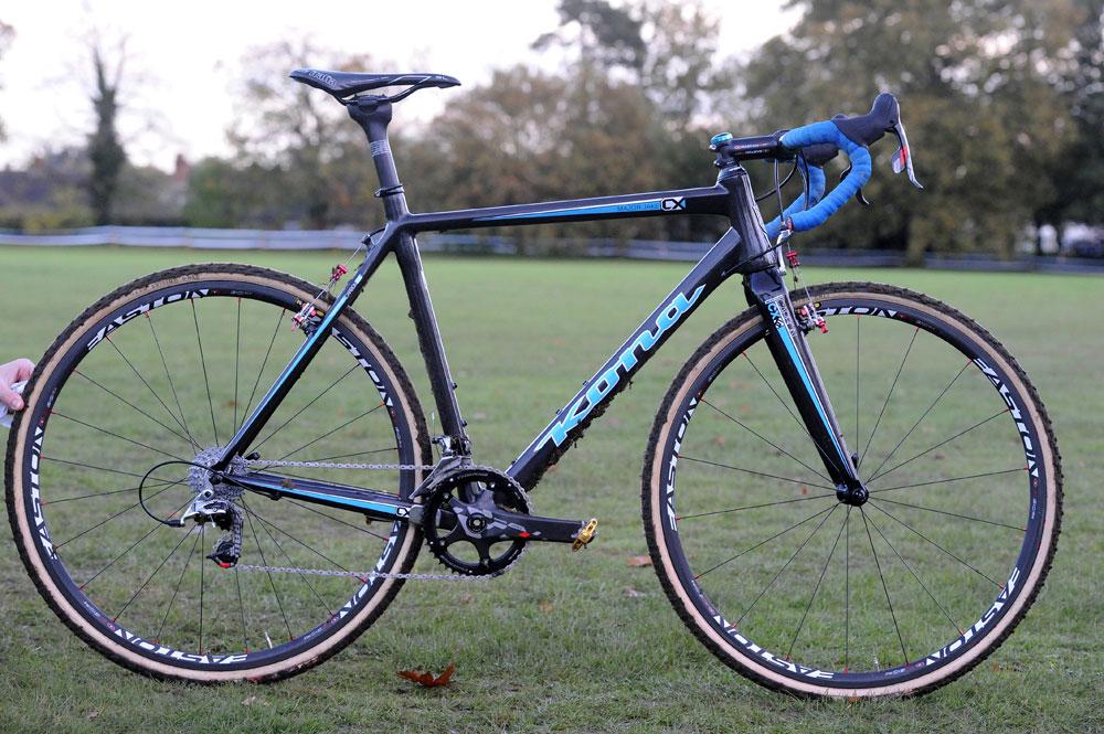 Helen Wyman S Kona Cyclo Cross Bike Cycling Weekly