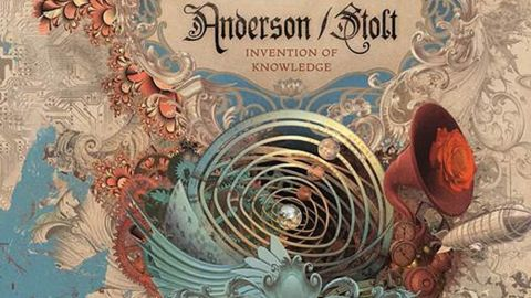Anderson/Stolt album art for Invention of Knowledge