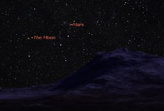 Mars in the Morning: Red Planet Grows Brighter