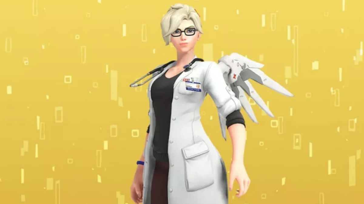 Overwatch debuts Mercy-themed event and legendary Dr. Ziegler skin