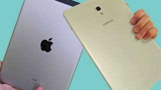 The iPad 9.7 and Samsung Galaxy Tab A 10.5