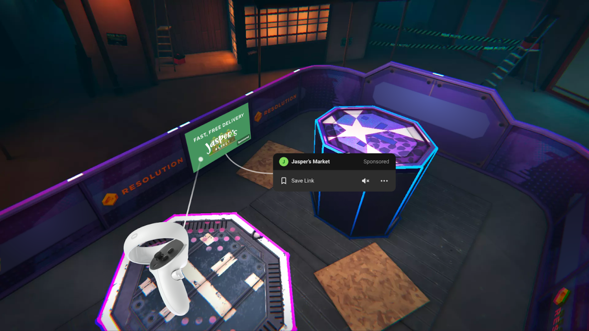 Facebook to start testing ads in Oculus games